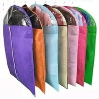 拍1个袋子,发1个西装防尘罩.颜色随机发