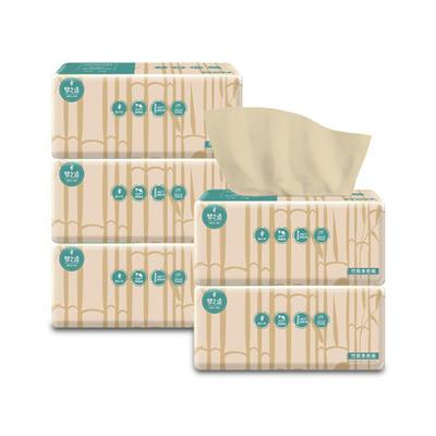 5包五包超实用抽纸 竹浆本色 居家 绵柔亲肤抽纸 收藏宝贝和店铺