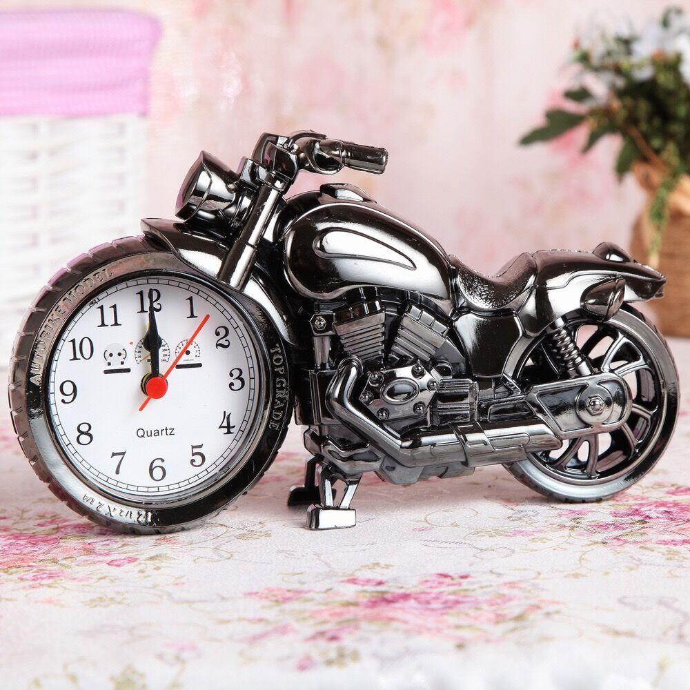 (多货比)   一个摩托车闹钟    (多货比)签收后直接好评