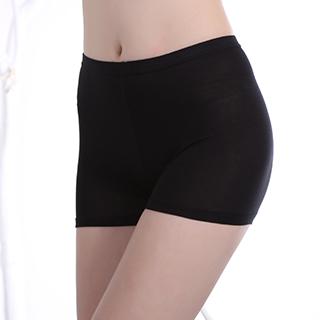 2条冰丝黑色打底裤