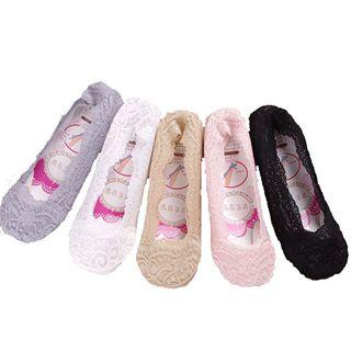 新款硅胶防滑 性感蕾丝浅口隐形船袜 多色可选