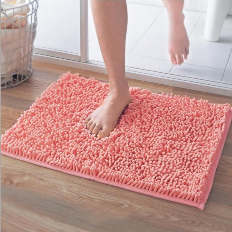 防滑雪尼尔地垫 浴室吸水垫子 厨房门垫脚垫 门厅进门地毯