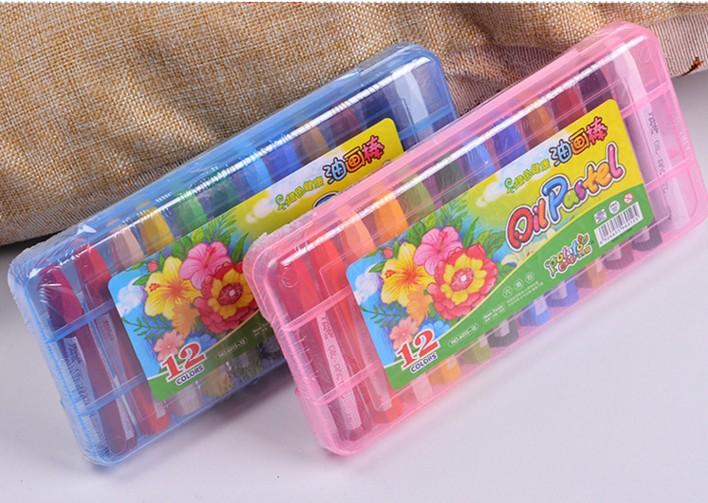 儿童蜡笔一盒12支